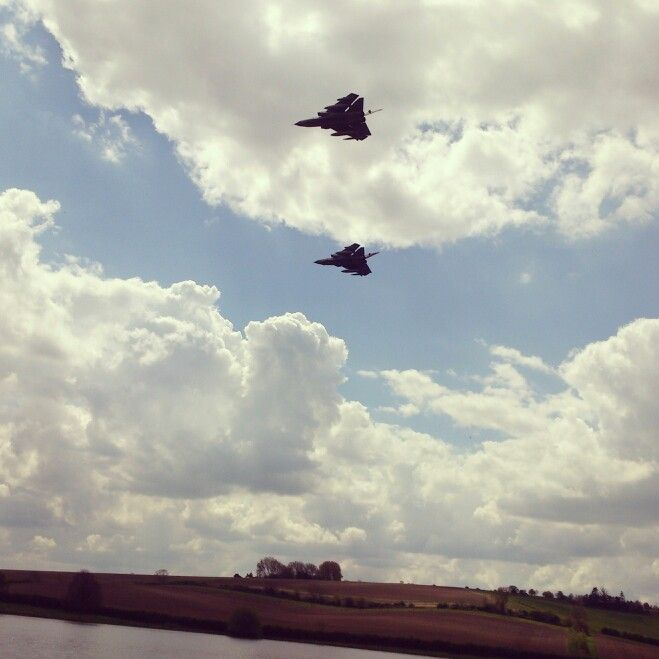 Tornados at eyebrook dambusters 70