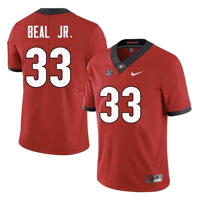 Men bulldogs 33 robert beal jr college football