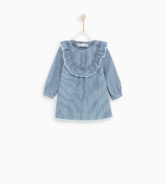 Fashion Pinterest Rayas Y Olivia's Vestido Volante Barn Zara wxIHqwg