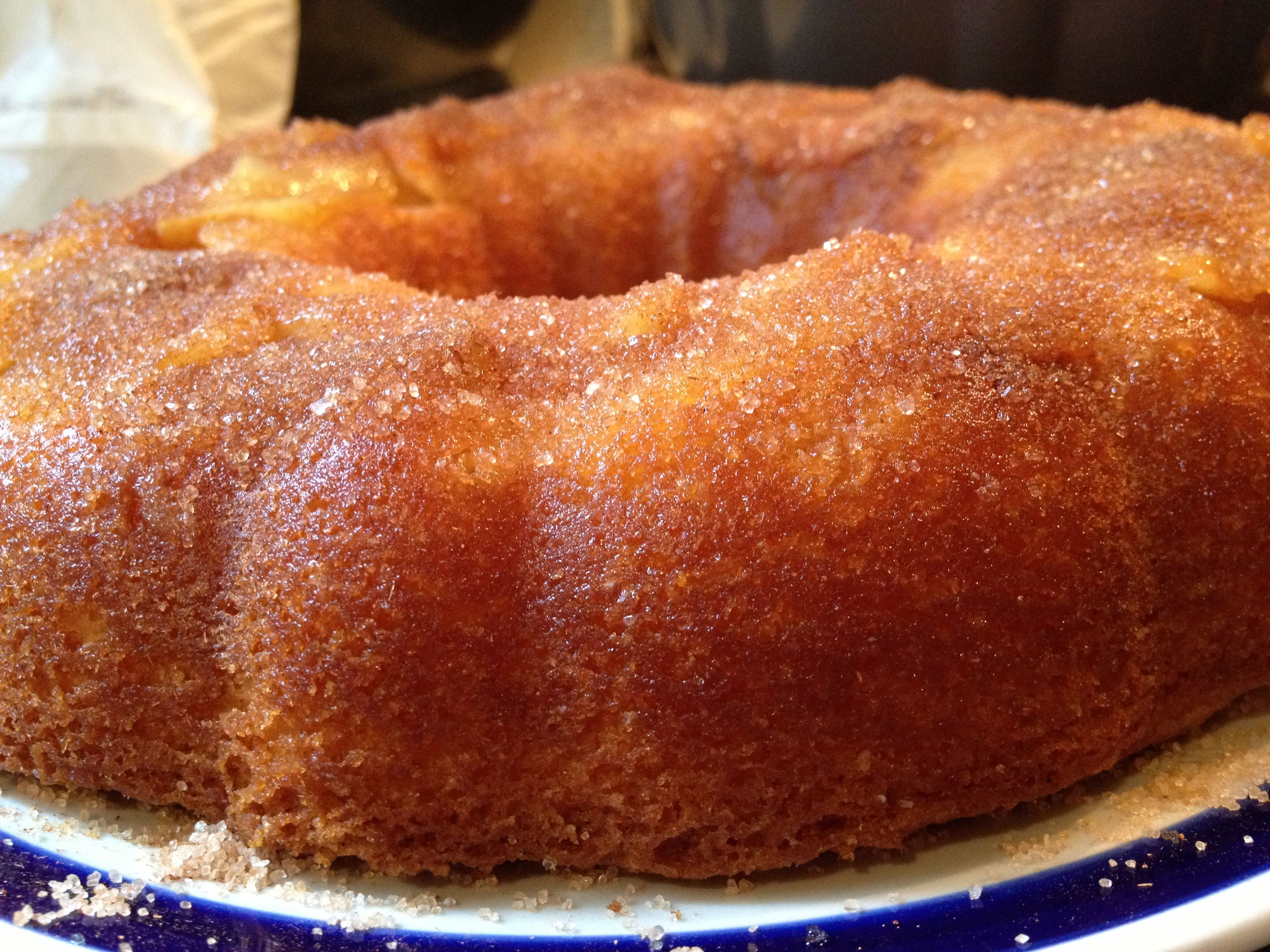 Easy Apple And Cinnamon Bundt Cake Recipe