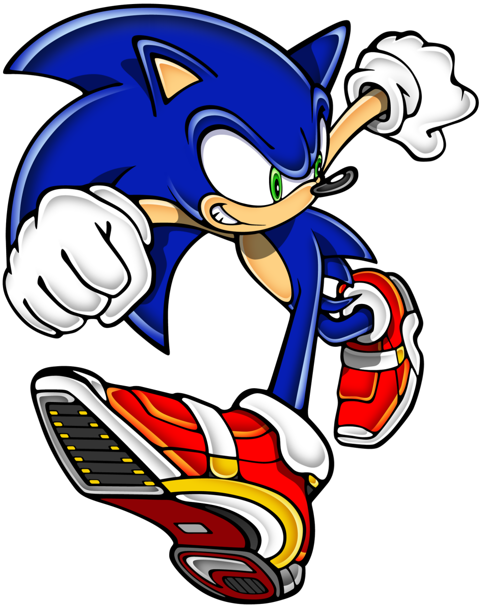 Sonic Art Archive Adventure2 Sonic Chase Png