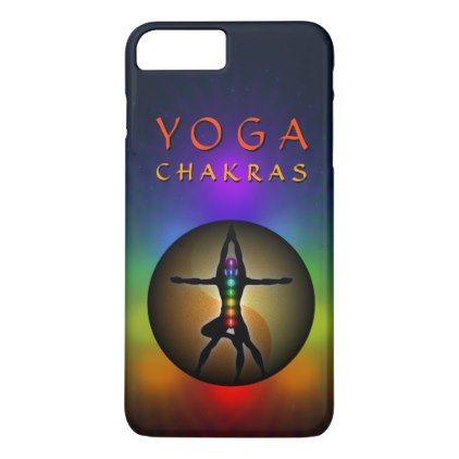 #teacher - #Yoga Seven Chakras Yin Yang Balance Masculine Slim iPhone 7 Plus Case