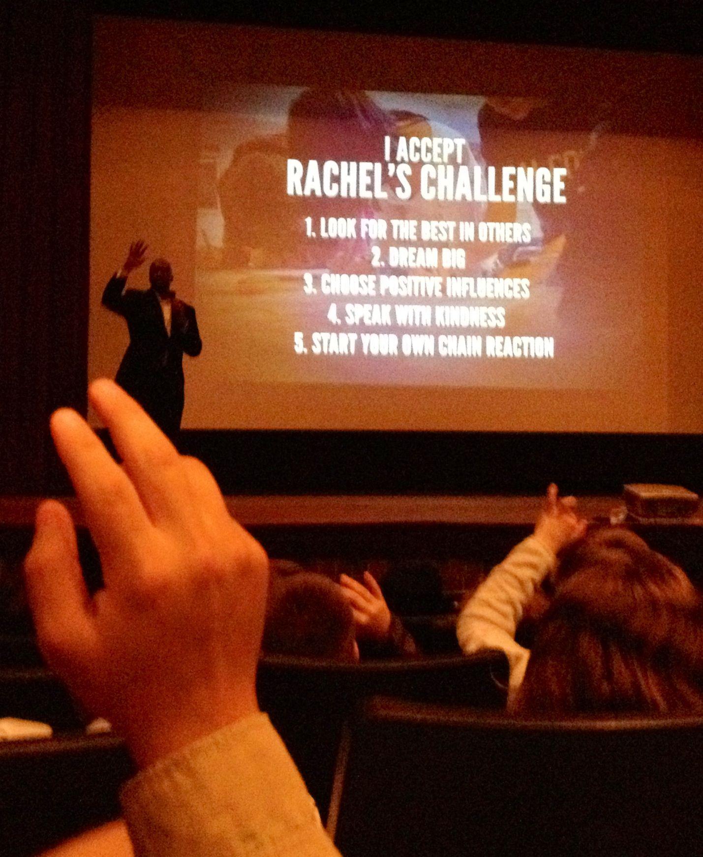 Rachel S Challenge 1 Look For The Best In Others 2