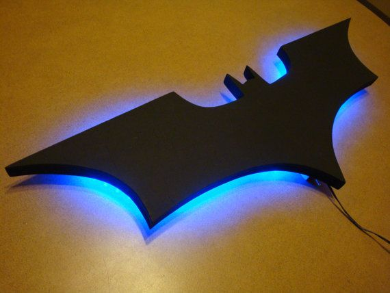 Batman logo led wall light night light by ozonereplicas on etsy batman logo led wall light night light by ozonereplicas on etsy aloadofball Choice Image