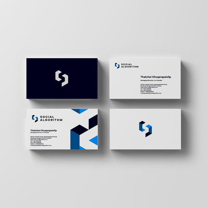 Logo and Business Card Design for a conglomerate tech ...