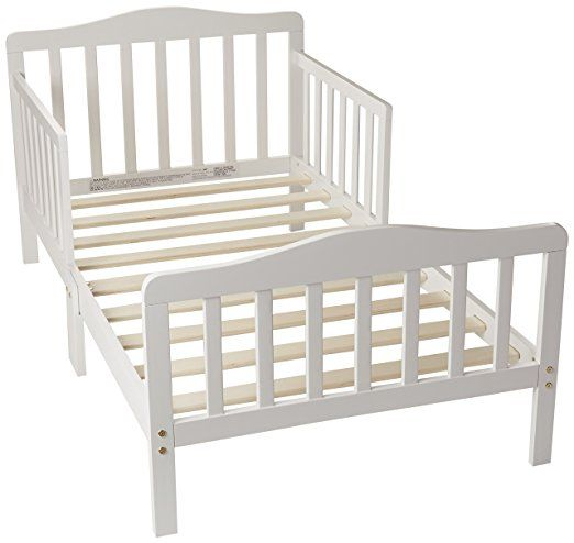Orbelle 3-6T Toddler Bed, White   Toddler bed, Bed reviews ...