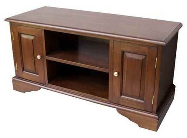 Etonnant Widescreen TV Cabinet Mahogany Tv / Cd Unit From Lock Stock U0026 Barrel  Furniture