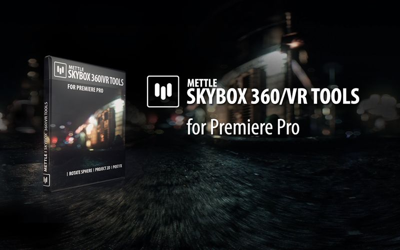 New! SkyBox 360/VR Tools for Premiere Pro | Монтажная | Tools, Video