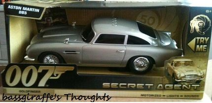 Toy State James Bond Light And Sound Q Branch Aston Martin Db5