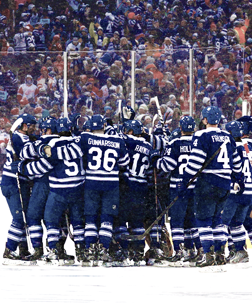 65fc236d967 Toronto Maple Leafs • Winter Classic 2014 • jamessreimer.tumblr.com ...