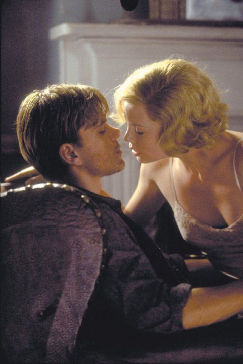 Still of Charlize Theron and Matt Damon in The Legend of Bagger Vance (2000)