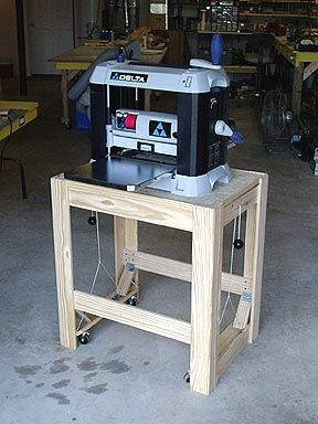 Ron S Woodwork Planer Stand Woodworking Woodworking