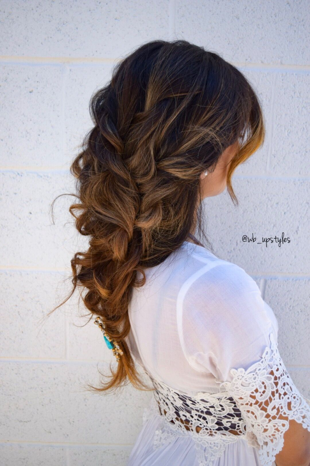 Bohemian Updo Gorgeous Wedding Hairstyle Wedding Hairstyles