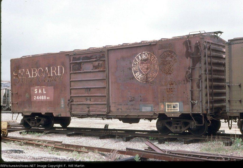Seaboard Air Line boxcar Rail car, Rr car, Railroad history