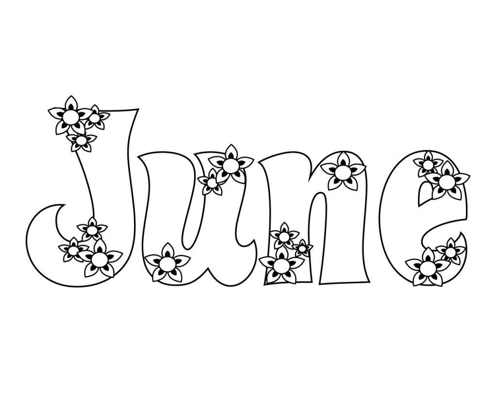 June Coloring Pages Best Coloring Pages For Kids Summer Coloring Pages Coloring Pages For Kids Flower Coloring Pages