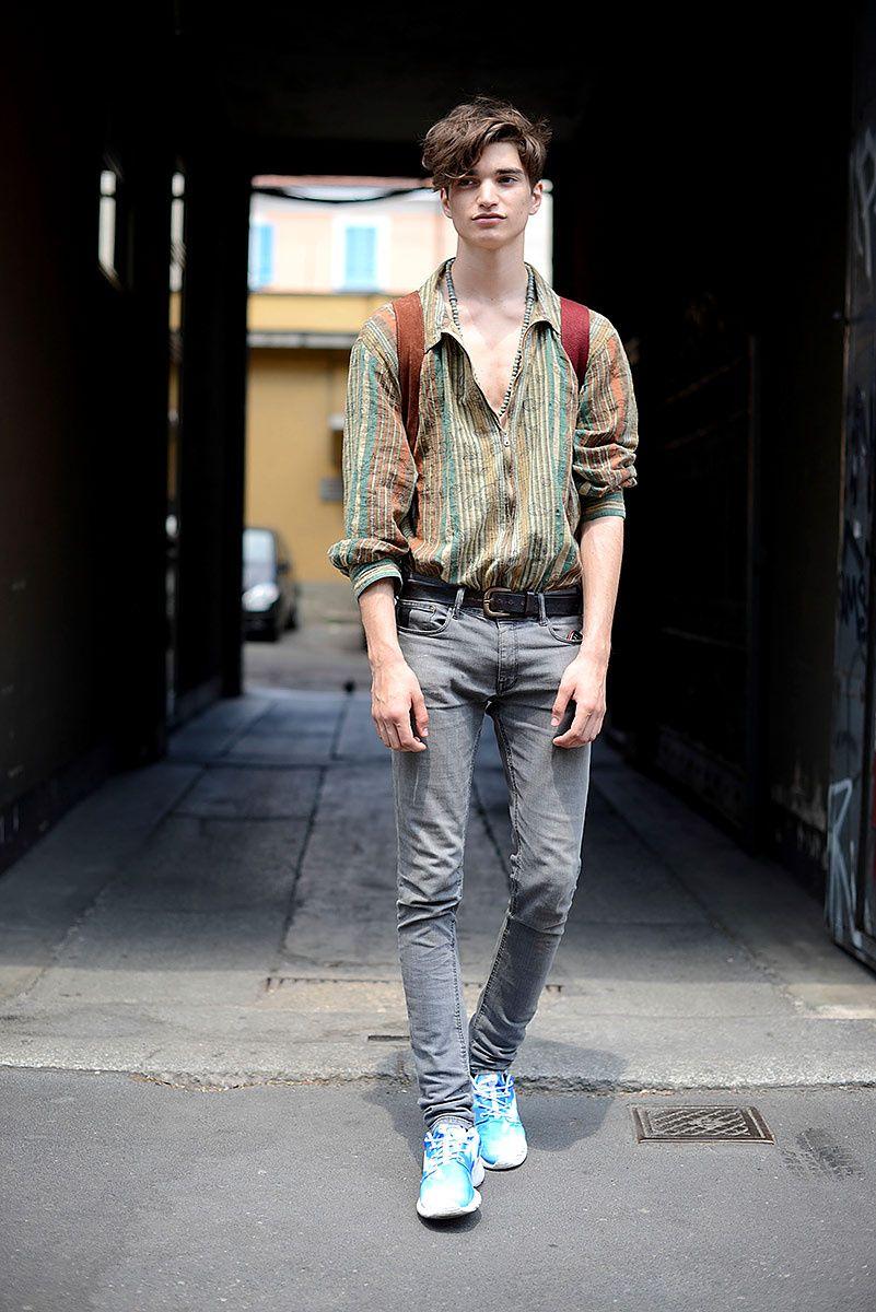 Street Style Moda Hombre Primavera