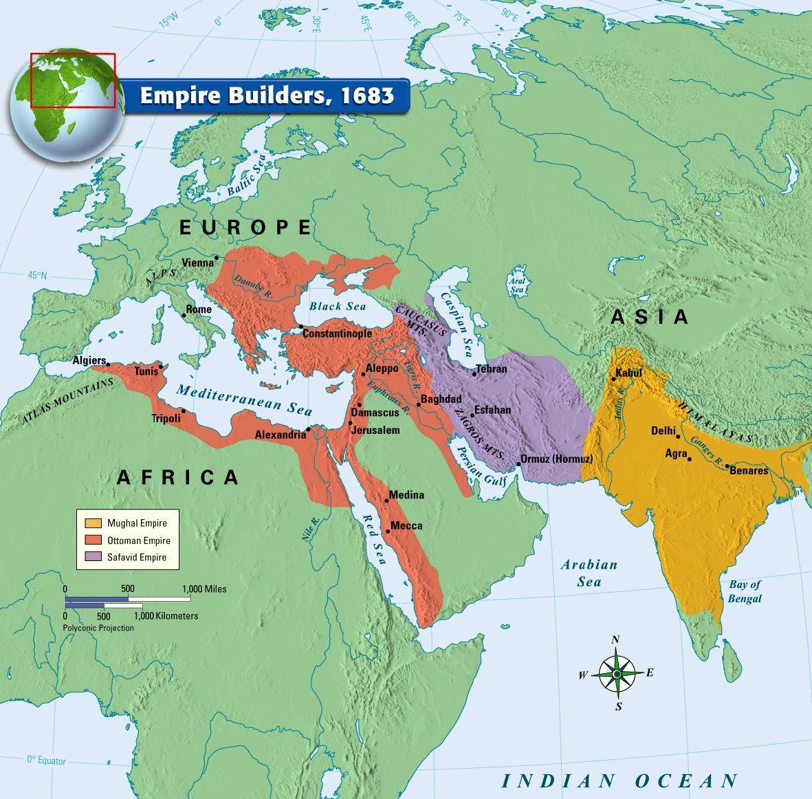 1683 yılındaki imparatorluklar