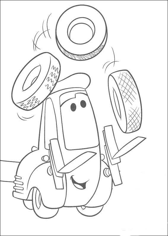 Dibujos para Colorear Cars 34 | Тачки | Pinterest | Colorear, Dibujo ...