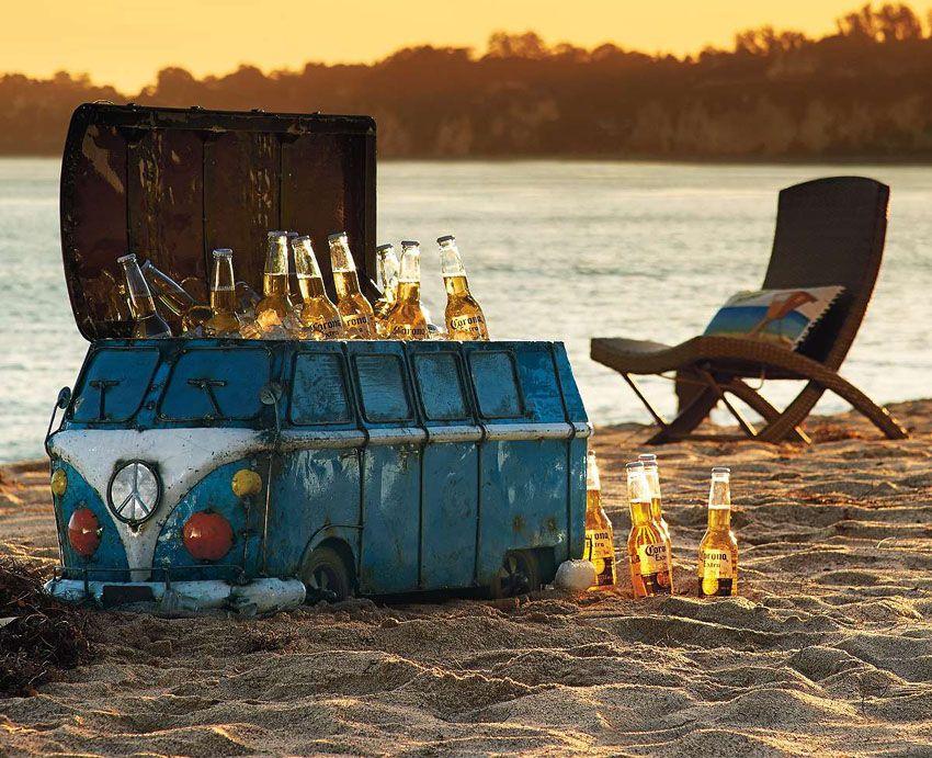 The Vintage Van Beach Cooler That Channels Stevie Nicks Cool