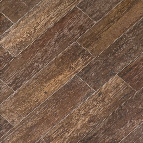 Tile That Looks Like Wood Tobacco Brown Color Likey