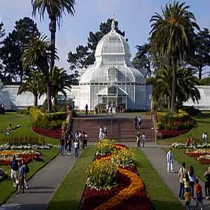 * San Francisco Conservatory, golden gate park