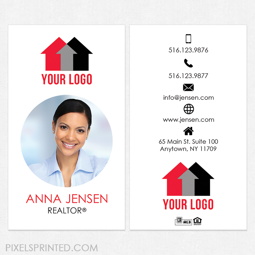 Independent Realtor Business Cards Realtor Business Cards