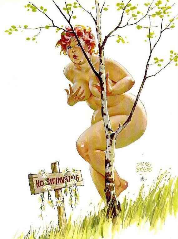 Wall Art Print- Hilda Art Reproduction Vintage Sexy Pin-up ...