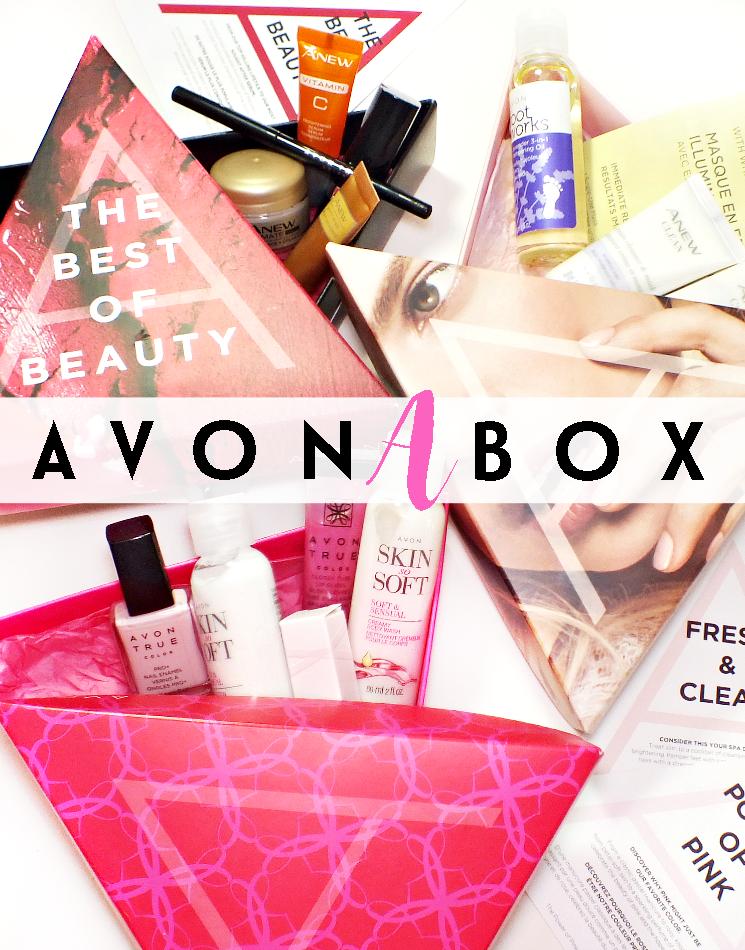 Avon A Box Avon, Skin so soft, Beauty box subscriptions
