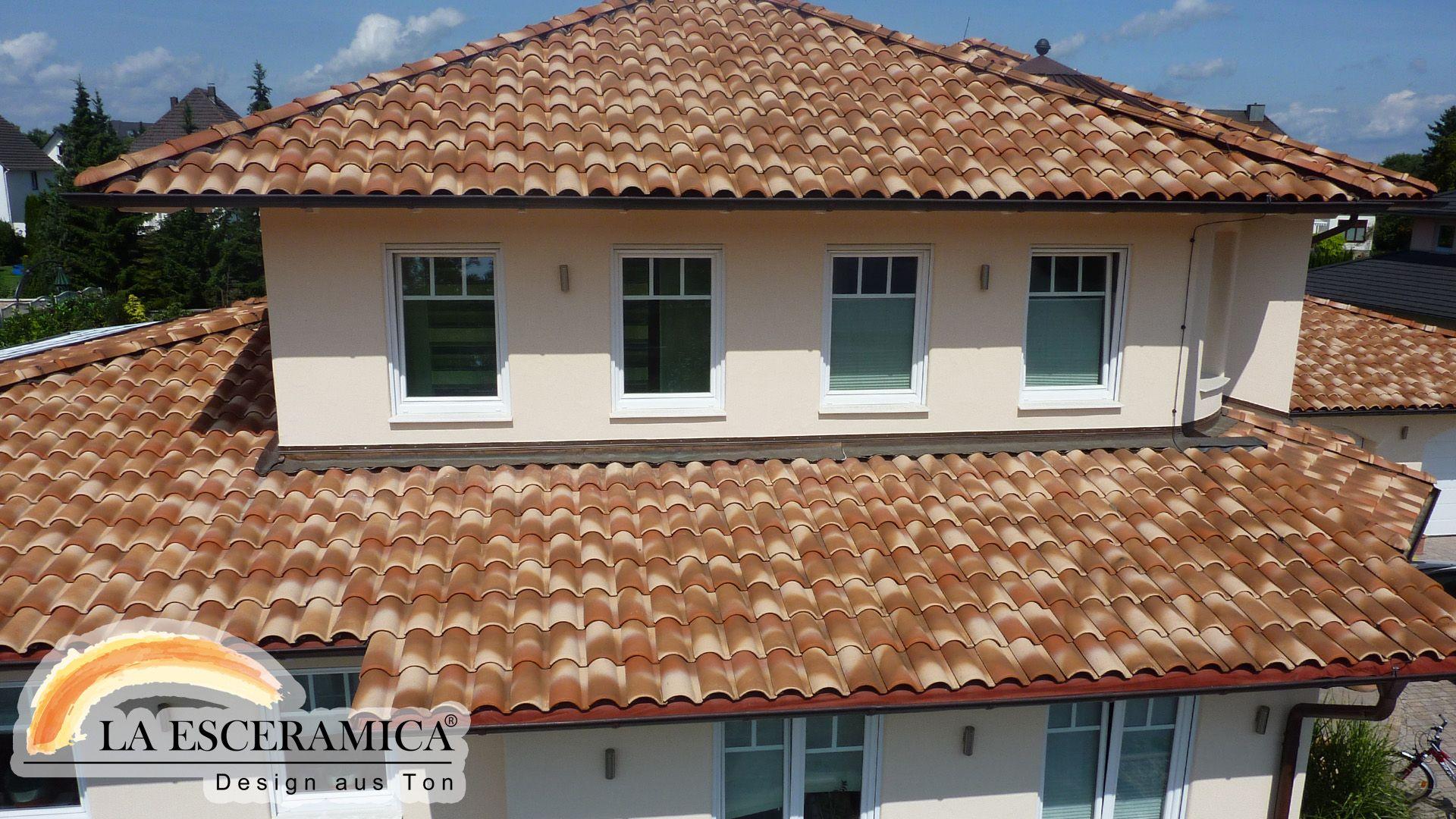 Dachziegel farben  La Esceramica Dachziegel Farbe Strohgelb | Dachziegel | Pinterest ...