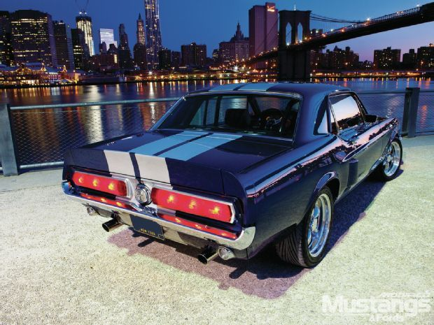 1967 Mustang Coupe Shelby Or California Special Rear Law And