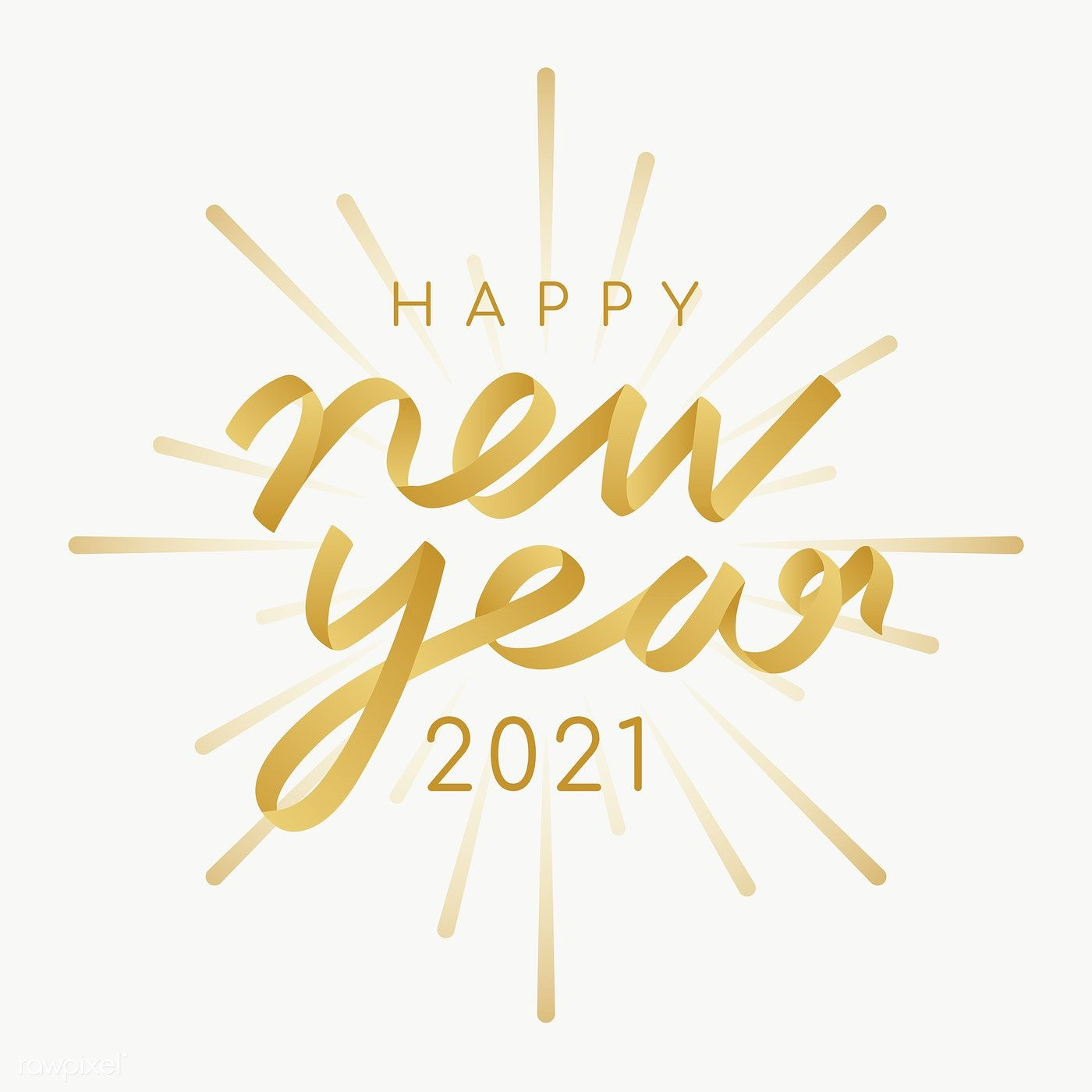 Happy New Year 2021 Transparent Png Free Image By Rawpixel Com Ningzk V Happy New Year Png Happy New Year Pictures Happy New Year Design