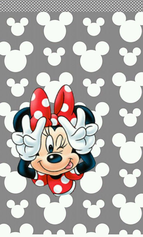 MINNIE MOUSE IPHONE WALLPAPER BACKGROUND