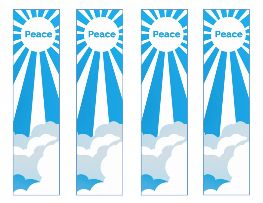 Free Peace Bookmarks For Martin Luther King Day Set Of 4 Martin