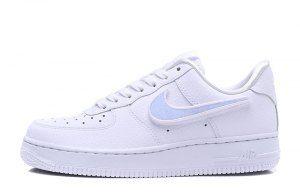 4d0900e5797a Mens Womens Shoes Nike Air Force 1 Swoosh Pack White AQ3621 111 ...