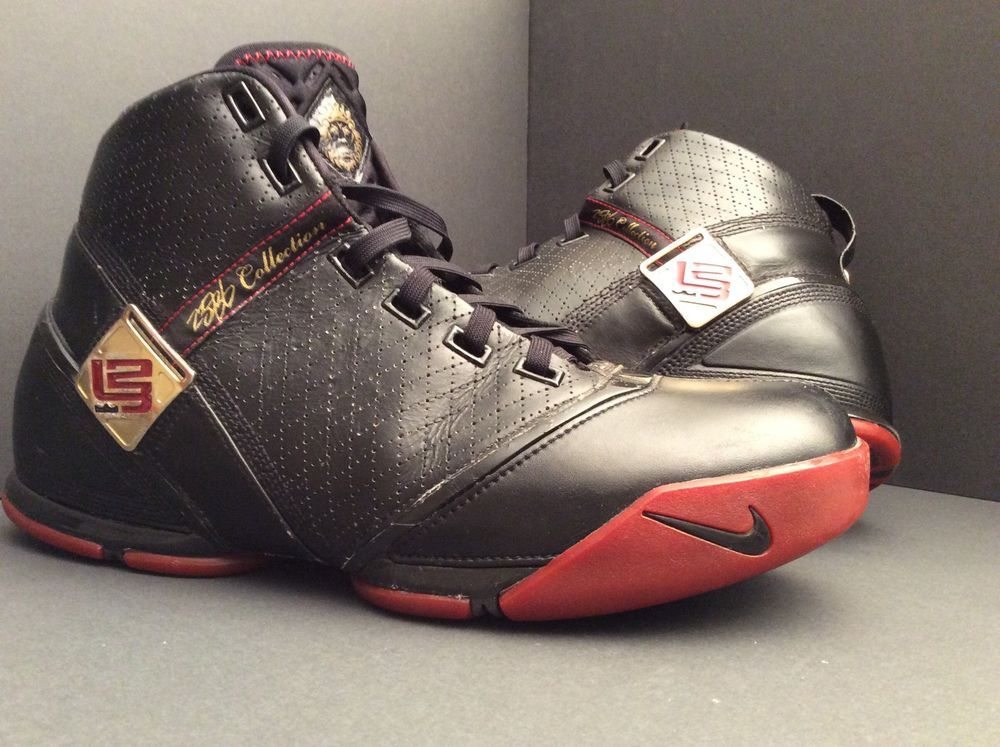 5f8c2552 Find many great new & used options and get the best deals for Nike Zoom  Lebron V 5 Black/Crimson/Gold- Men's 317253 001 Sz 11 at the best online  prices at ...
