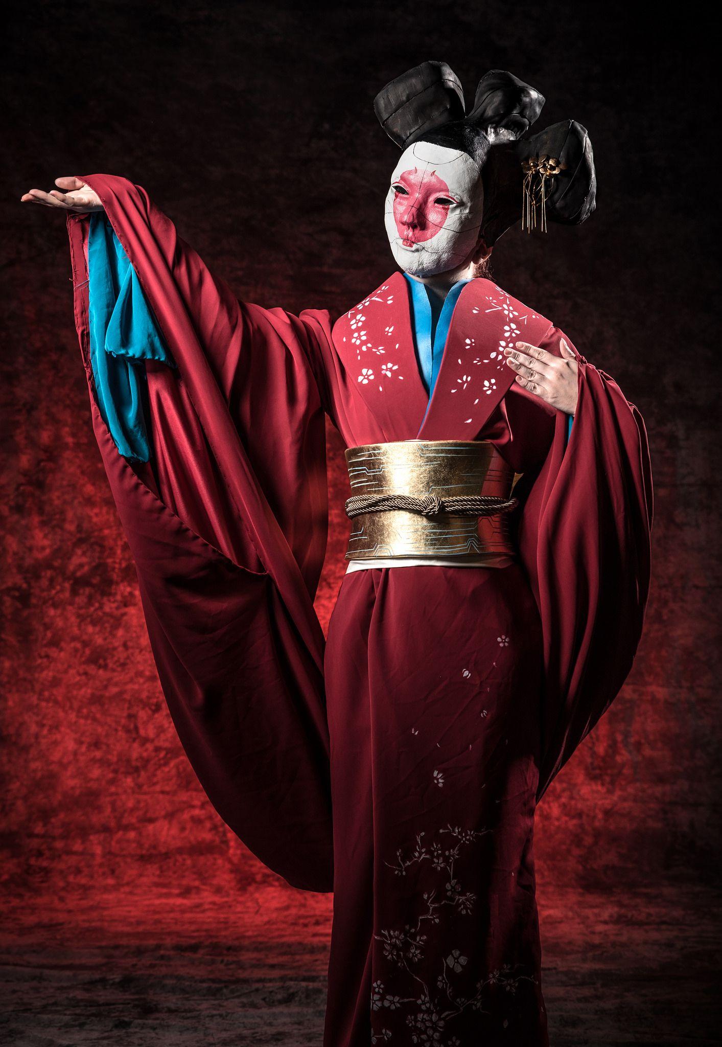 Geisha Robot Geisha Ghost In The Shell Cosplay