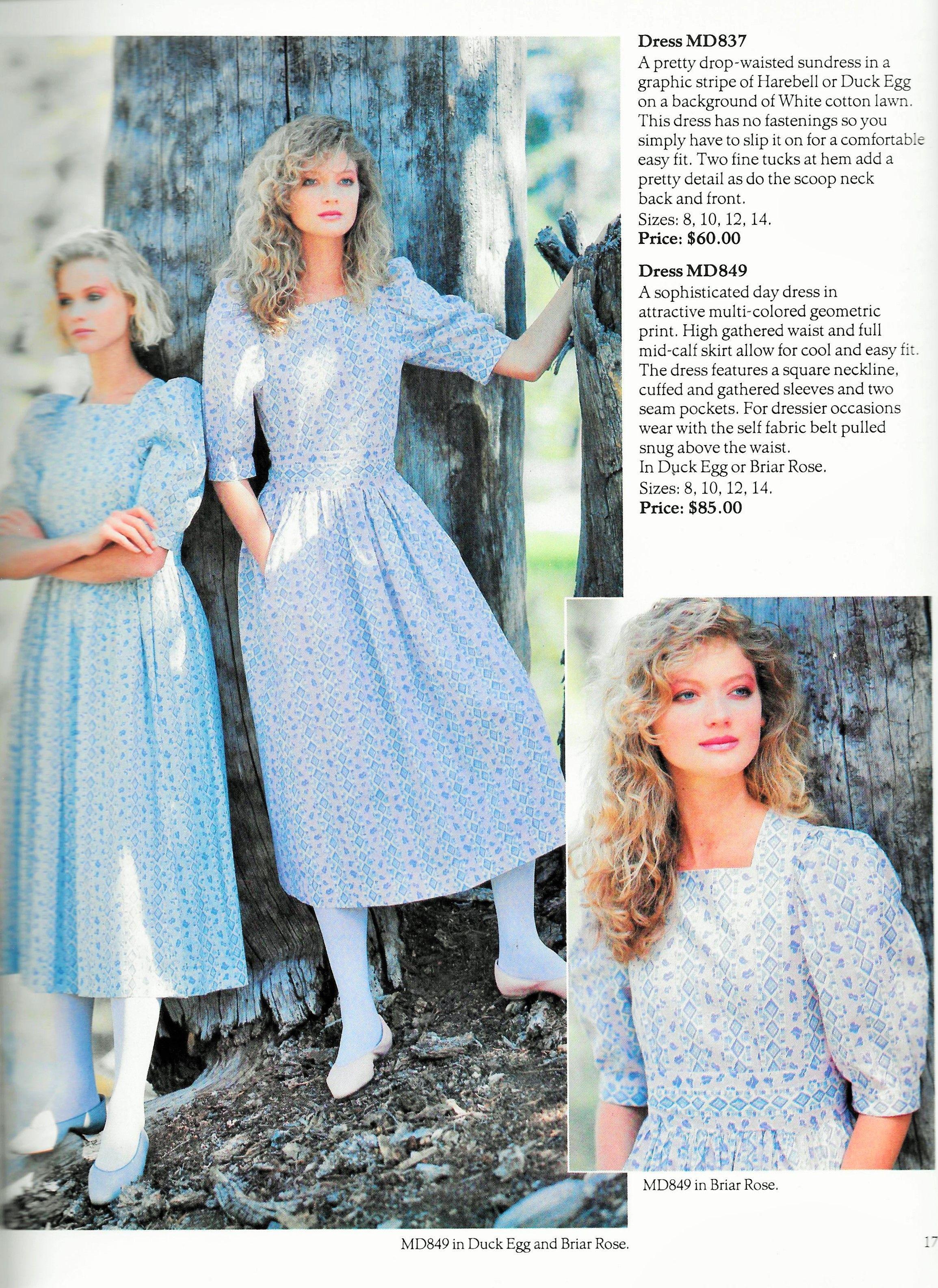 Laura Ashley Spring/Summer 1984 | Remembering Laura Ashley ...