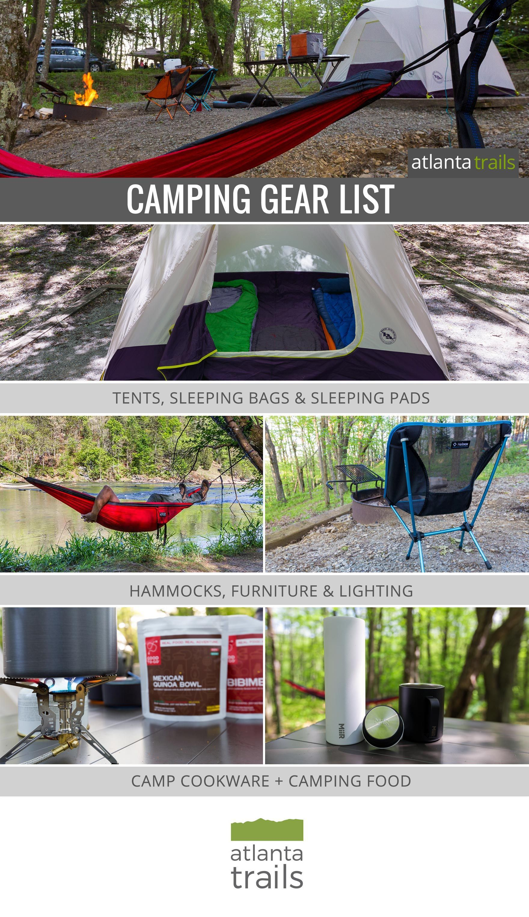 Photo of Camping Gear List – Atlanta Trails