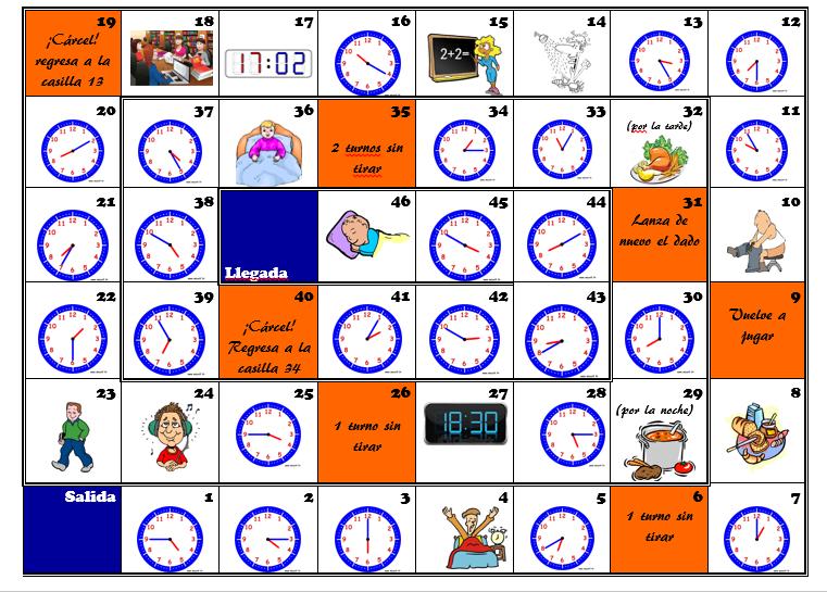 Oca hora | hora | Pinterest | Spanisch, Geometrie und Französisch