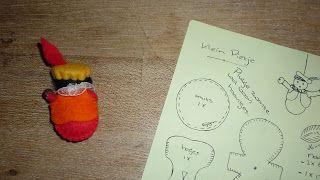 Ingrids creaties .: Even een klein Pietje gemaakt voor op een pakje. ( Patroontje doe ik erbij. )