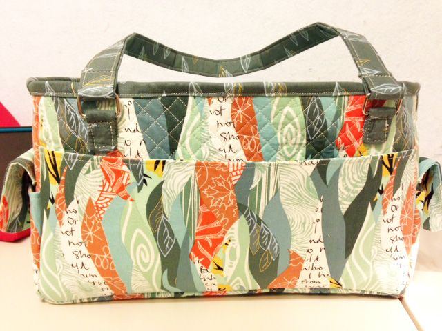 FREE Oslo Craft Bag pattern