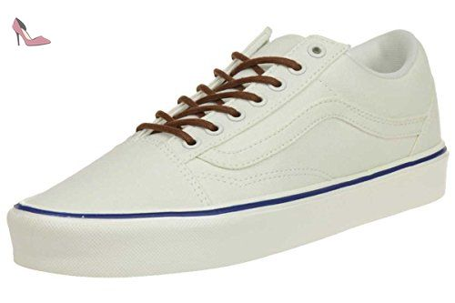 Atwood Low DX, Sneakers Basses Femme, Beige (Leather), 42 EU (8 UK)Vans