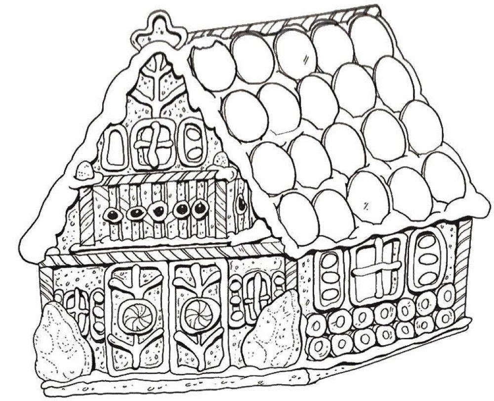 Special Gingerbread House Coloring Pages To Print Gingerbread Man Coloring Page House Colouring Pages Candy Coloring Pages