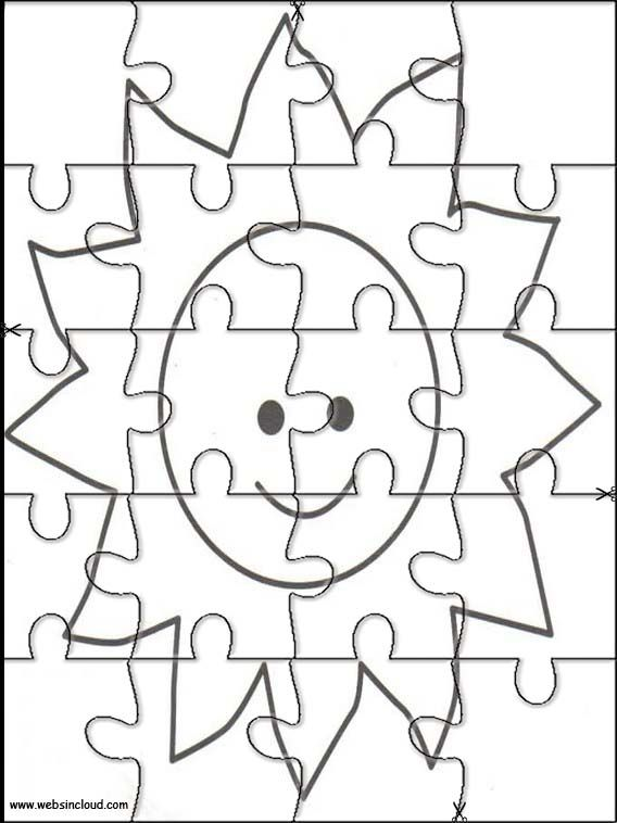 Printable jigsaw puzzles to cut out for kids Space 37 Coloring Pages ...