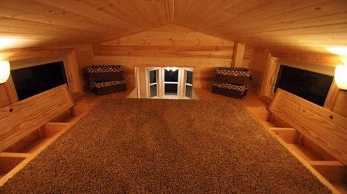 in the floor storage in loft area shenandoah 160 sq ft. Black Bedroom Furniture Sets. Home Design Ideas