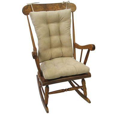 Twillo Xl 2 Piece Rocker Chair Cushion Set Jcpenney