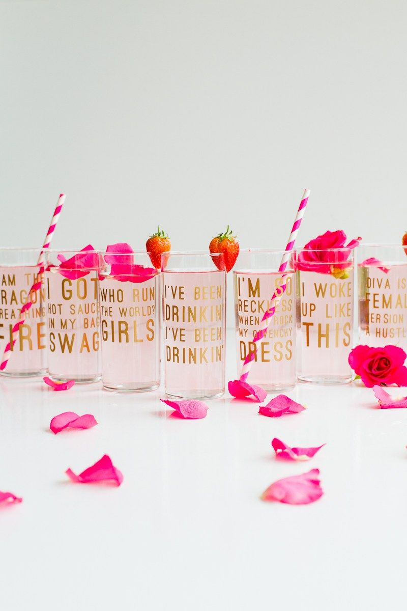 Diy beyonce lyric quote cocktail glasses fun feminist drinks for beyonce lemonade lyric quotes glasses cocktails drinks hen party bachelorette song fun girl power queen b stopboris Images