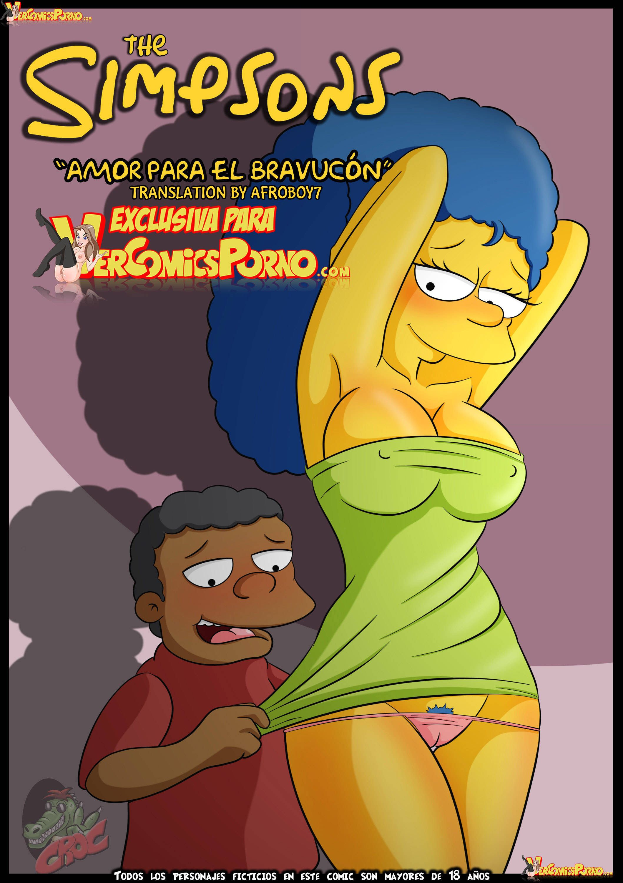 Annika Van Houten Porn - Page 1 of the porn sex comic Croc Comics - The Simpsons - Love for the  Bully for free online