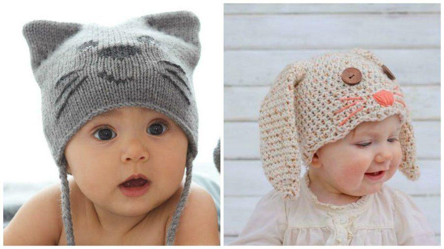 96227f57b Cómo hacer un gorro para bebé en crochet-Patrones para imprimir ...
