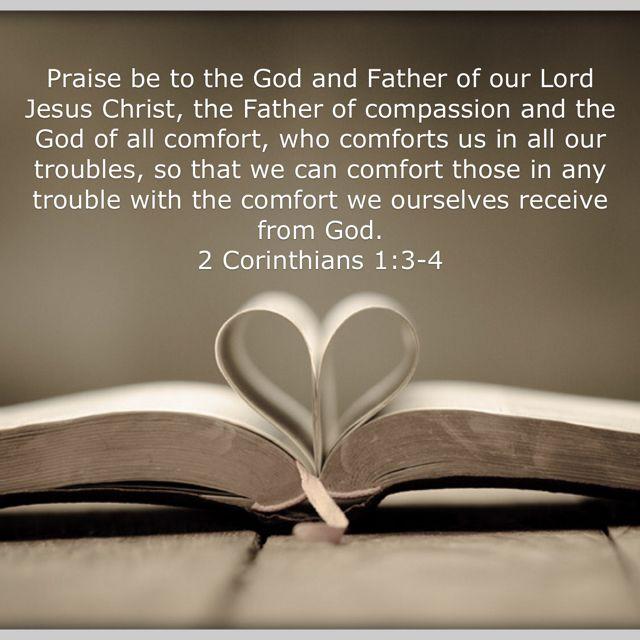 2 Corinthians 1 3 4 Bible Scriptures Bible Apps Spiritual Words